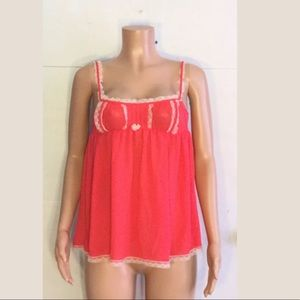 Victoria's Secret babydoll lingerie nightgown